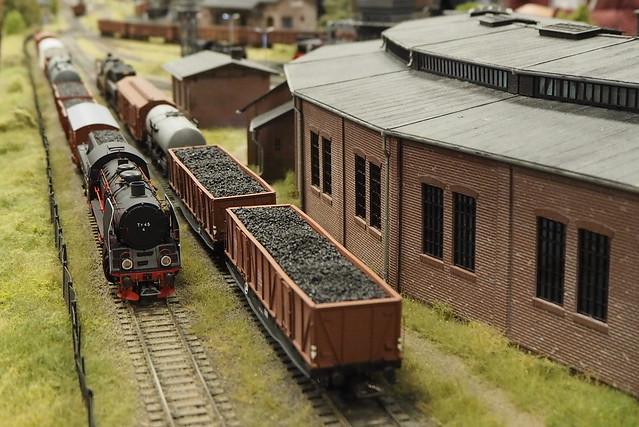 Выставка железнодорожных макетов