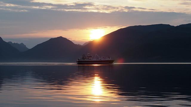 Samsøya — Sortland,Норвегия